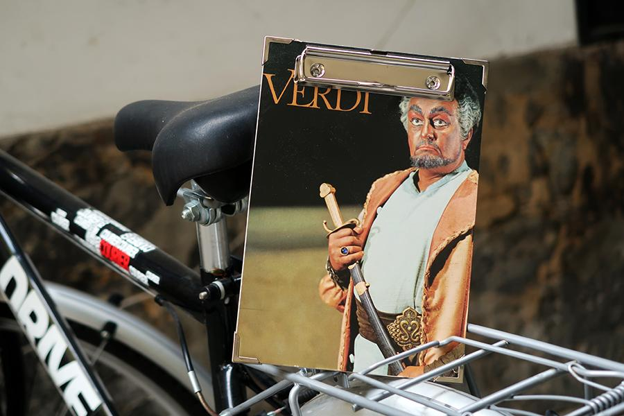 "Plattencover-Klemmbrett A5 ""Verdi"""