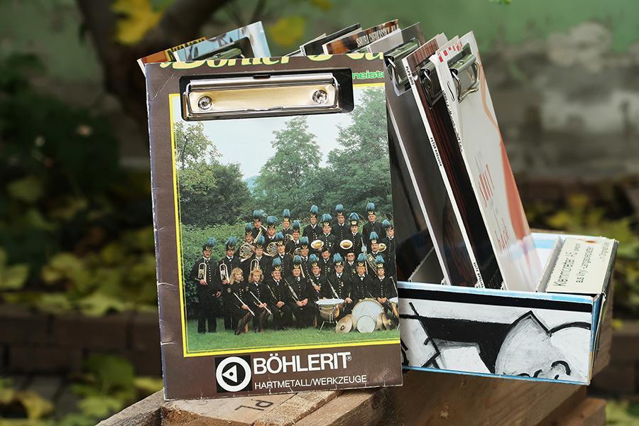 """Vinyl-Klemmbrett A5 """"Böhlerit"""""""