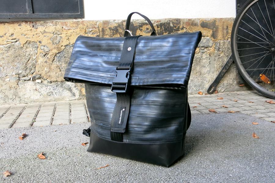 Rucksack aus Fahrradschlauch