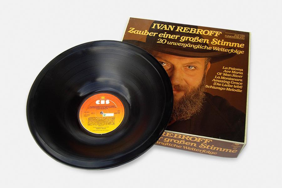 Vinyl-Schale