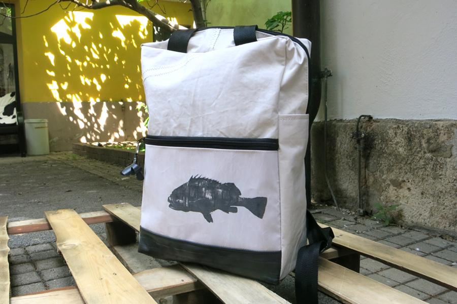 Fisch Edition - Segel-Rucksack